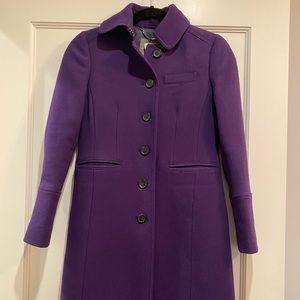 JCrew Petite classic lady day coat